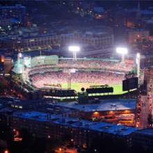 Fenway Park (home of the Boston Red Sox)